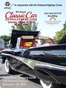 8th Annual Classic Car Cruise-In @ Price's Corner Shopping Center
